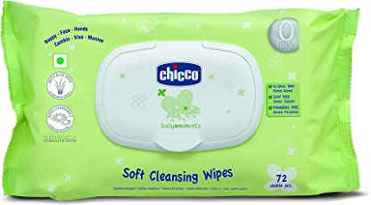 Chicco Wipes Fliptop Pack (72 Count)