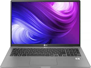 LG gram 17Z90N 17 Inch Ultra-Lightweight laptop 1,350 g - WQXGA (2560 x 1600) IPS, Thunderbolt 3, Long Lasting Battery up to 18.5 hours, 10th Gen IntelRCoreT i5-1035G7 Processor 512 GB