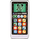 VTECH- Telephone EMOTI'FUN Noir & Blanc Jouets ELECTRONIQUES EDUCATIFS, 80-603785, Multicolore - Version FR