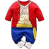 IURNXB Encantador Dibujos Animados Mameluco Ropa de BebÉ Cosplay Vestido Anime ReciÉn NacidoBebÉ Mono