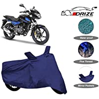 Drize Finest Pulsar 150 Bike Cover Waterproof With Ultra Surface Body Protection (Navy Look)