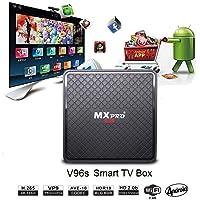 Vmade Android TV BOX 4K 7.1 Cortex-A7 1G Ram 8 Go Rom Multimédia Player Support 4K HD wifi 2.4G 802.11b / g / n support Sans fil Clavier Télécommande La description