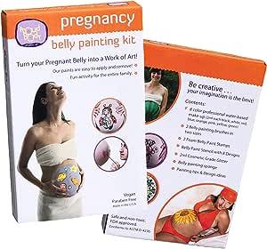 Proudbody Pregnancy Belly Painting Kit Amazon Co Uk Baby