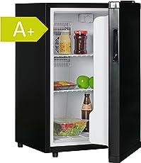 Amstyle Minikühlschrank 65 Liter Minibar Schwarz freistehender Mini Kühlschrank Klein 5°-15°C Energieklasse A+ Tischkühlschrank ohne Gefrierfach für Getränke Zimmerkühlschrank 230V 65L Geräuscharm