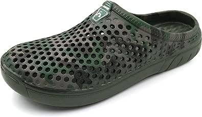 AMOJI Garden Clogs Shoes Sandals Slippers CAMO161