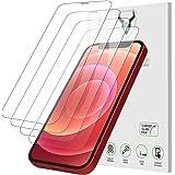 """iSOUL 4 Pezzi, Vetro Temperato Compatibile con iPhone 12 e iPhone 12 Pro (6.1""""), Pellicola Prottetiva Anti Graffio, Anti-Impr"""