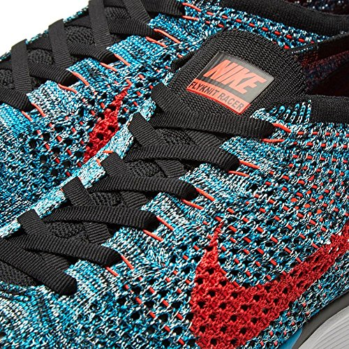 Nike Herren Laufschuhe, 44 EU Grün / Rot (Neo Turq / Brght Crimson-Glcr Ic)