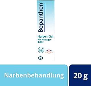 Bepanthen® Narben-Gel für glattere und unauffälligere Narben mit Massage-Roller,lindert Juckreiz undSpannungsgefühl,20g