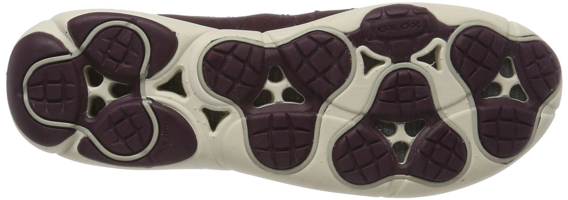 Geox Damen D Nebula A Low-Top Sneakers mit herausnehmender Ledersohle und atmungsaktiver Nebula-Technologie 3