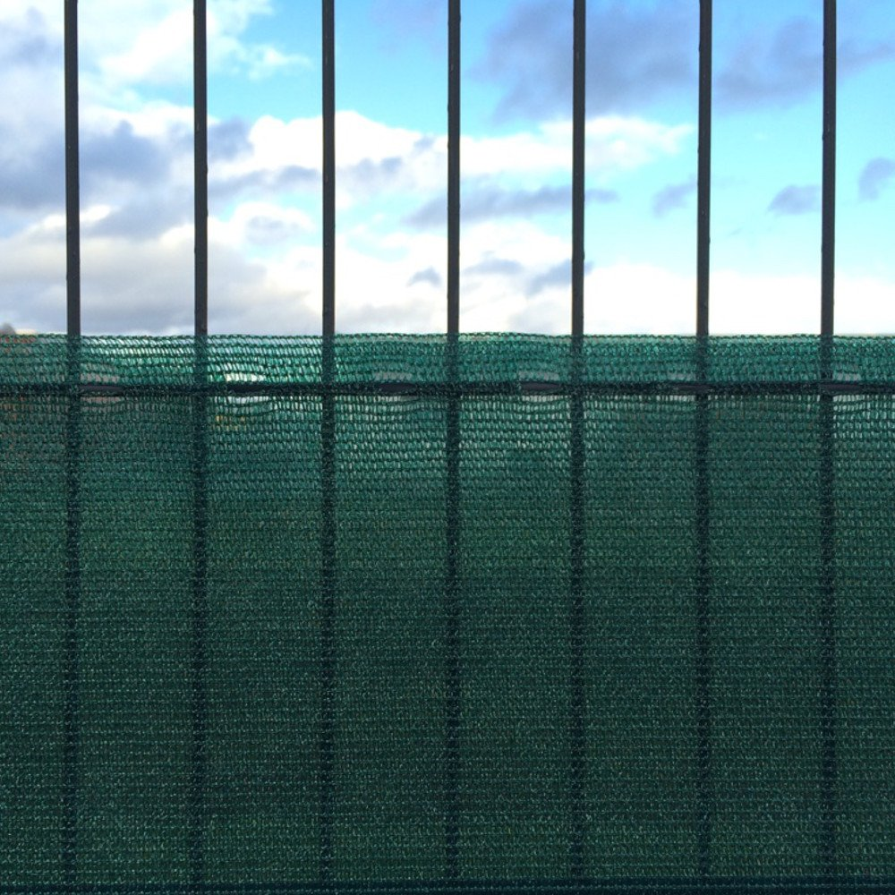 2 Meter Höhe Sichtschutz Windschutz Zaunblende Tennisblende