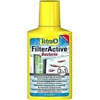 Tetra FilterActive Bacteria - 2in1 Mix aus lebenden Starterbakterien und schlammreduzierenden Reinigungsbakterien, hält…
