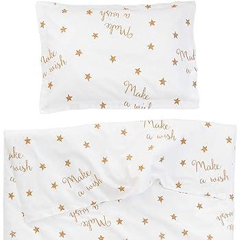 7b6e5538440d7 Make a wish - Pati Chou 100% Coton Linge de lit pour bébé (Taie d oreiller  et Housse de couette 120x150 cm)