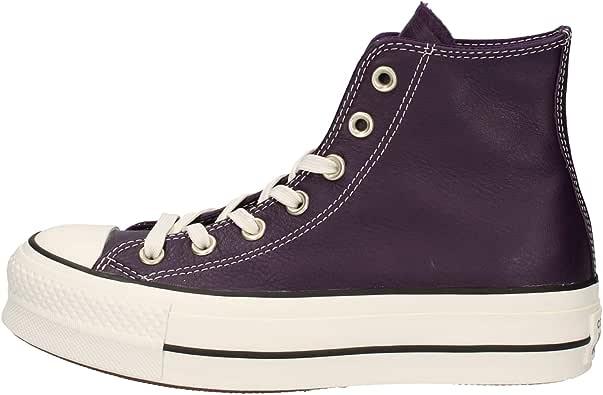 Converse Scarpe Chuck Taylor all Star Lift Leather Hi CODICE