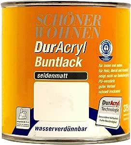 Schöner Wohnen DurAcryl Buntlack Altweiss 750ml 0096