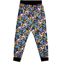 Mens Official Character Lounge Bottoms Cotton Pyjamas Pjs Nightwear Trousers Gift S-XL