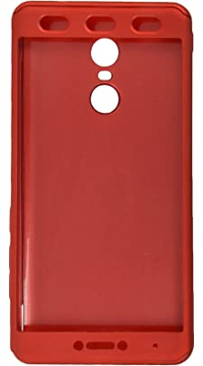 iPAKY Plastic Back Cover for Mi Redmi Note 4  Red