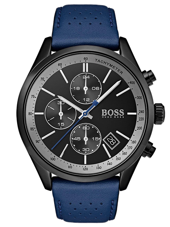 0c20edafc32c ... Hugo BOSS Reloj Cronógrafo para Hombre de Cuarzo con Correa en Cuero  1513563