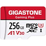 Gigastone 256GB Micro SD Card, Gaming Plus, Nintendo-Switch Compatible, High Speed 100MB/s, 4K Video Recording, Micro SDXC UH