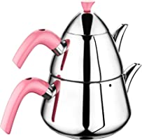 Remetta Rem7 Pramit Model Lüks Çaydanlık Seti