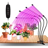 LED Plant Grow Light, Grow Lights for Indoor Plants, Growing Lamp Full Spectrum with Timer, 10 Dimming Level & 3 Switch Modes