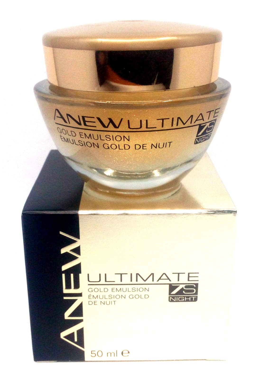 4 x Avon Anew Ultimate 7S Night Gold Emulsion 50ml Set