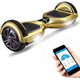"""6.5"""" Gyropode Bluewheel HX310s Smart APP Self Balance Scooter Board, Marque Allemande avec Norme UL2272, Mode sécurité Enfant, Skateboard électrique, Bluetooth"""
