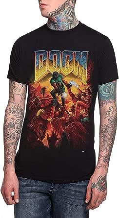 Summer Fashion Doom Original Cover Mens T-Shirt Black Size S-3Xl