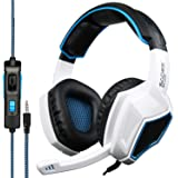 SADES Latest Version Ps4 Headphones,Sades SA920 3.5mm Stereo Bass Gaming Headset with Microphone for New Xbox one PS4 PC Lapt