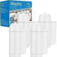 4pcs Coffee Water Filter Replacement TÜV Certified for Siemens EQ Series, TZ70033, TCZ7003, TZ70003, Bosch TCZ7003…