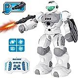 Robot Enfant Jouet - Robot Programmable Telecommandé Intelligent - Jouet Enfant 4 5 6 7 8 Ans Garcon - Geste ContrôLe Le Chan
