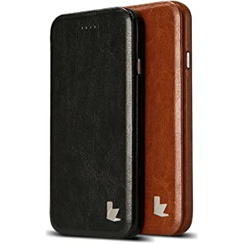 959ffaddee JISONCASE iPhone 6S Case, Slim Vintage PU Leather Stand Case Cover for  Apple iPhone 6S iPhone 6 Magnetic Folio Flip Protective Case Sleek with  Gift Package ...