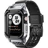 Clayco Funda Apple Watch 44mm Band [Vertex] Case Provee Ultra Proteccion y Resiste a Impactos Funda de Correa de 44m para App