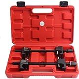 CCLIFE 2 Pezzi Professionale Compressore Molla Ammortizzatori per Auto Strumenti di Estrattore Molle Ammortizzatore…
