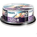 Philips DVD-R 4,7 GB / 120 Min / 16X Tarrina (25 Disc)