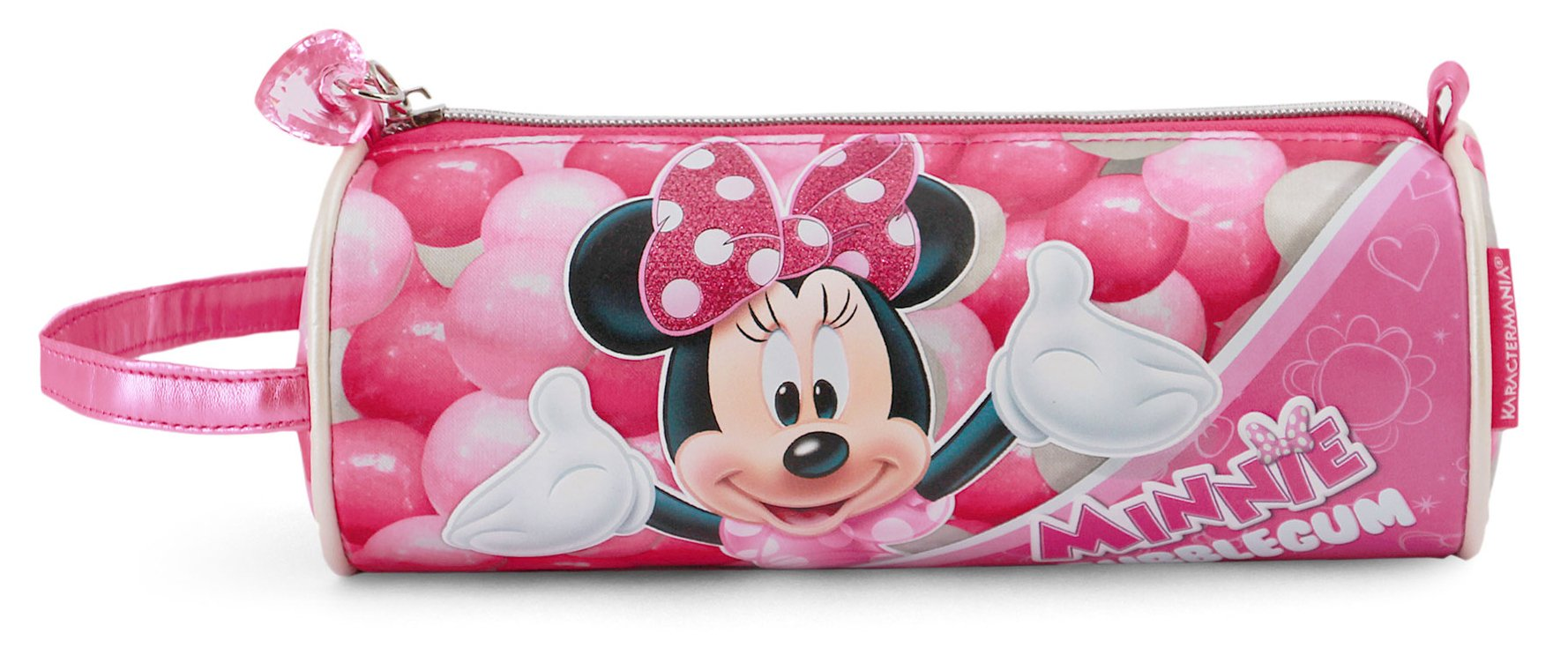 Karactermania 36231 Minnie Mouse Bubblegum Estuches, 22 cm, Rosa
