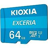 بطاقة ذاكرة MicroSD اكسيريا بذاكرة 64 جيجابايت من كيوكسيا، LMEX1L064GG2