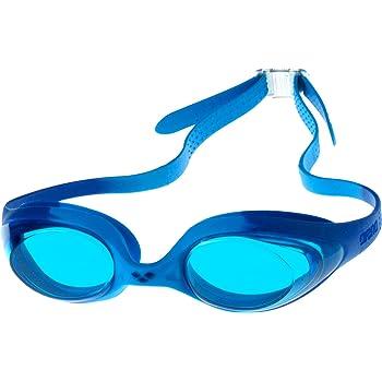 ebab1ee664bc8 arena Kinder Unisex Training Wettkampf Schwimmbrille Spider Junior  (UV-Schutz, Anti-Fog, Harte Gläser)