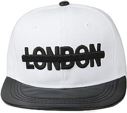 Noise London White Snapback Cap