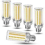 Ampoule E27 Mais LED 16W avec culot à vis, Blanc Chaud 3000K 1900LM Lumineux, (équivalent ampoule incandescentede 120W 150W),