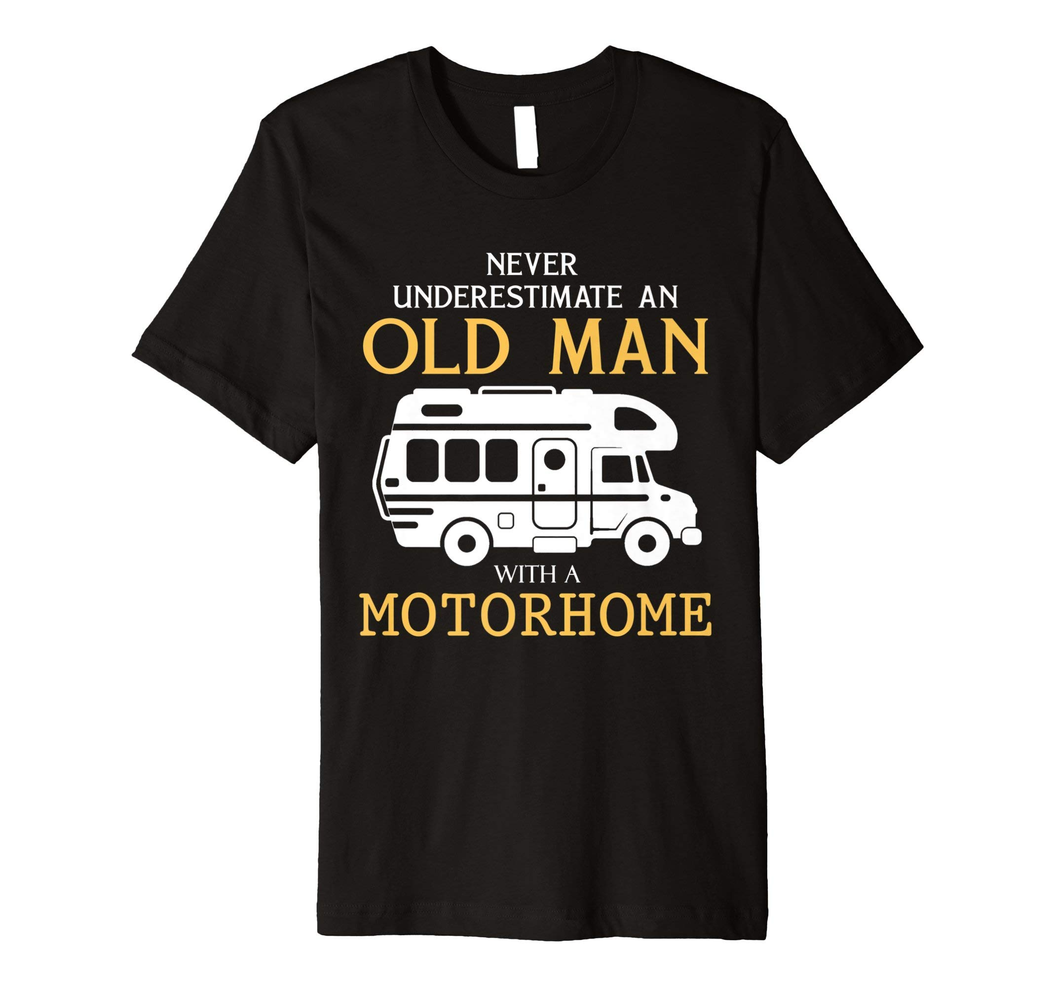 Never underestimate an old man with a motorhome