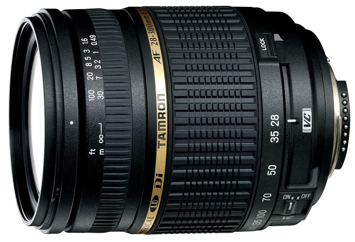 Tamron AF 28 - 300 mm F/3.5 - 6.3 Di Obiettivo Ultra-Zoom e Macro per Nikon