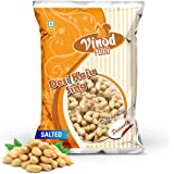 VINOD FOOD Roasted Peanuts Salted 400GM Nitrogen Packing, Fresh & Whole Seeds Salted Peanuts, Gives Strength and Keeps The He
