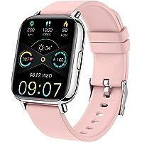 Montre Connectée Homme Femmes, Smartwatch 1,69 Montre Sport Podometre Cardiofrequencemètre Moniteur de Sommeil Etanche…