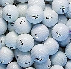 Nike Second Chance Lake Balls Palline Assortite, Grado B, 100 Pezzi, Bianco