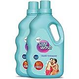 Safewash Liquid Detergent by Wipro, 500ml (Buy 1 Get 1 Free)