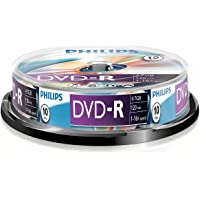 Philips DVD-R DM4S6B10F/00 - blank DVDs (4.7 GB, DVD-R, 120 min, 16x)