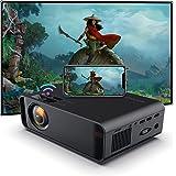 SOTEFE® Mini Video-Beamer - WiFi Video Beamer 1080P Full HD Video Projector For Smartphone iPhone/Samsung/Hauwei usw -Projekt