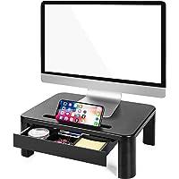 LORYERGO Supporto Monitor con 3 Altezze Regolabili Carico Fino a 20KG per Monitor PC Laptop Stampante Monitor da…
