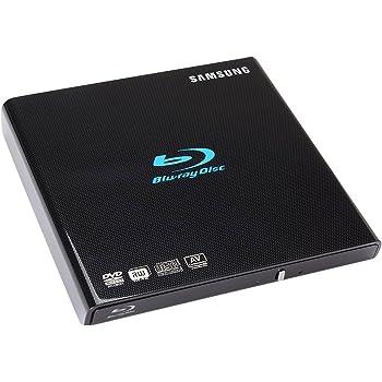 Samsung 6X Slim Blu-ray Writer USB External Drive SE-506BB/TSWD Black