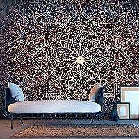 murando - Fototapete 150x105 cm - Vlies Tapete - Moderne Wanddeko - Design Tapete - Wandtapete - Wand Dekoration - Abstrakt Mandala Orient f-C-0131-a-c